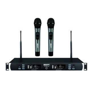 Double Micros Sans Fil Main UHF WM 6000 MH MK2 POWER
